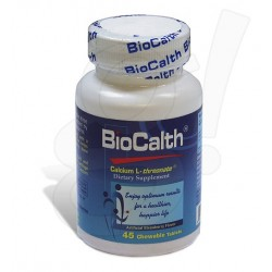 BioCalth 45 Chewables Tablets (Strawberry Flavor)
