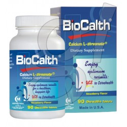BioCalth 90 Chewables Tablets (Strawberry Flavor)
