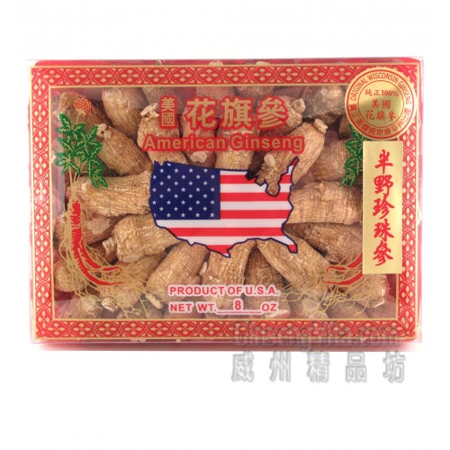 American Ginseng Short Large 8oz / Box