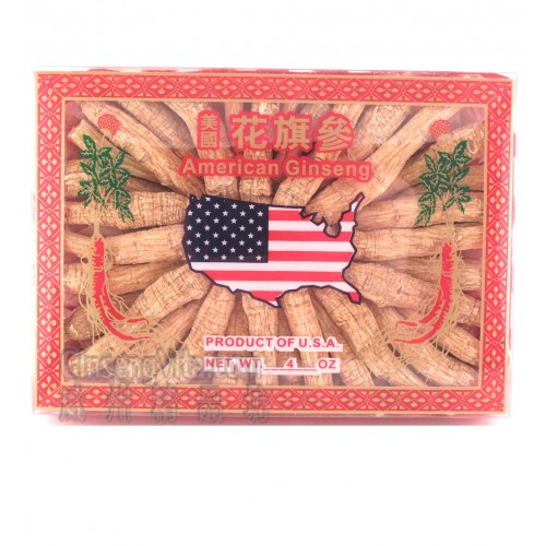 American Ginseng Long 4oz / Box