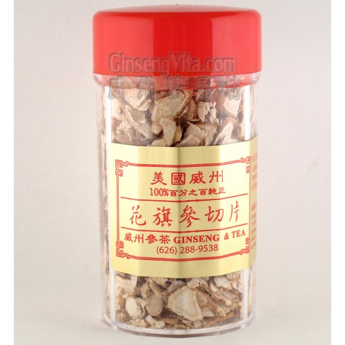 American Ginseng Slices (Bottle)