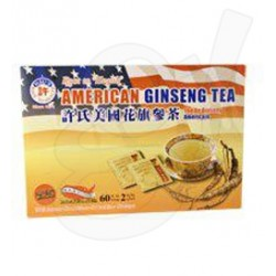 Hsu's Ginseng Tea 60 Teabag / Box