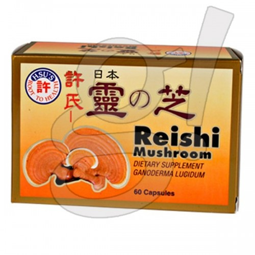 Hsu's Japanese Reishi Mushroom 60ct