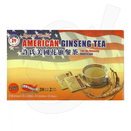 Hsu's Ginseng Tea 20 Teabag / Box