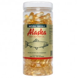 NCB Alaska Deep Sea Fish Oil Omega 3 1000mg 200 Softgels