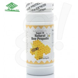 NuHealth Natural Bee Propolis 200 Softgels
