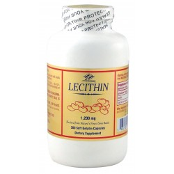Nu-Health Lecithin 1200mg 300 Softgels
