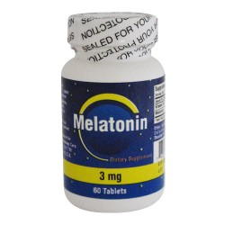 Nu-Health Melatonin 3mg 60 Tablets