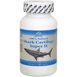 Nu-Health Shark Cartilage 750mg 100 Capsules