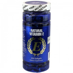Nu-Health Vitamin E 400IU 250 Softgels