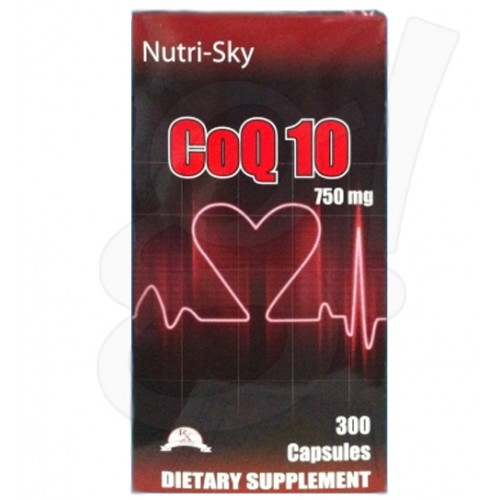 Nutri-Sky CoQ10 750mg 300 Capsules