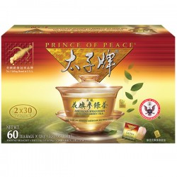 Prince of Peace American Ginseng Green Tea 60 Bags