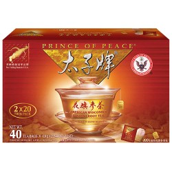 Prince of Peace American Ginseng Root Tea 40 Sachets