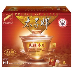 Prince of Peace American Ginseng Root Tea 60 Sachets