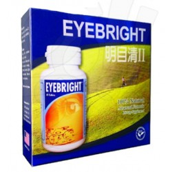 EYEBRIGHT Ⅱ 6 Bottles Package - 60 Tablets per Bottle