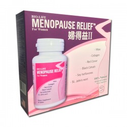 MENOPAUSE RELIEF Ⅱ 8 Bottles Package - 45 Tablets per Bottle