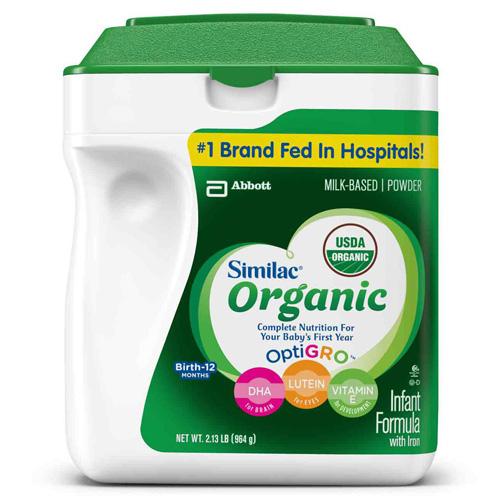 Similac Organic Baby Food